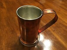 New Jacob Bromwell COLLECTOR'S CUP BEER MUG Pure Copper FILSON MADE IN USA $299