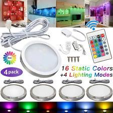 Neu 4x LED Unterbauleuchte Küche Vitrinenbeleuchtung Schrankleuchten Licht Lampe