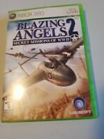 Blazing Angels 2: Secret Missions of WWII (Microsoft Xbox 360, 2007)