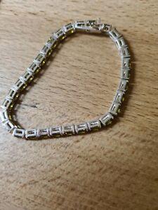 Tennisarmband 925 Silber 18,5 cm