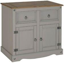 Corona Grey Wax 2 Door Sideboard by Mercers Furniture®