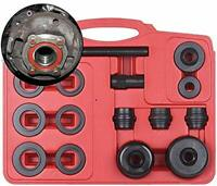 15pc Universal Front Wheel Drive Bearing Removal Adapter Puller Tool Kit Set