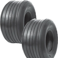 2) 15x6.00-6 Hay Tedder Farm Implement AG TIRE RIB 6ply TL 710 lb wt capacity
