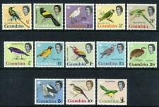 GAMBIA 1963 BIRDS OF AFRICA COMPL.TO £1 MNH cat.£85