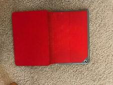 Apple iPad mini 3 A1599 128GB Wi-Fi Grey bundle with red case USED