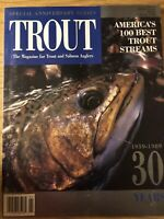 Trout MagazineSpring 1989 30th Anniversary Edition,