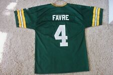Vintage Brett Favre Green Bay Packers Jersey Men Size M Medium Logo Athletic USA