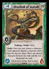 Warlord CCG - Warlord Saga of the Storm:Orazhuk of Scarab  (Fixed Nothrog SD)