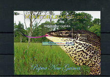 Papua New Guinea 2011 MNH Monitor Lizards 1v S/S Reptiles