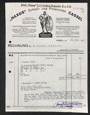 alte Rechnung, Naxo Schleifmittel, Kassel Cassel 1925 #R102