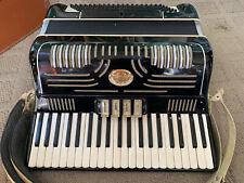 VINTAGE SALANTI PIANO ACCORDION MODEL N 271 BEAUTIFUL READ MADE IN ITALY