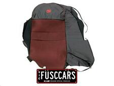 Genuine HSV Brand New Leather Rear Upper Seat Cover Black/Red VT VX VY VZ