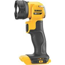DEWALT DCL040R 20V MAX* 20 Volt Lithium Ion LED Cordless Work Light Flash Light