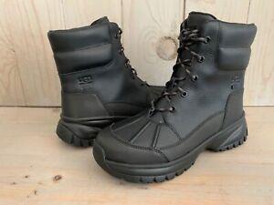 UGG   YOSE black  WATERPROOF WINTER SNOW BOOTS WOMEN US 8.5 NIB