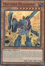 YU-GI-OH CARD: MACHINA MEGAFORM - SUPER RARE - NECH-ENS06 - LIMITED EDITION