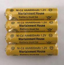 4-pcs1.2v AAA (600mAh) Ni-Cd Rechargeable Battery For Solar Light