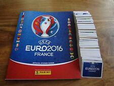 PANINI EURO FRANCE 2016  FULL LOOSE SET OF 680 STICKERS + EMPTY ALBUMx