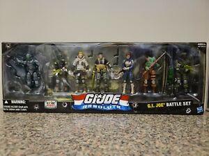 GI Joe Resolute Battle Set Snake Eyes BeachHead Duke Flint Scarlett Box 7 Pack