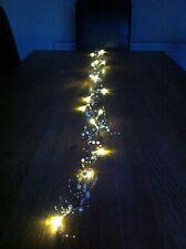 Argent 20 led heart line/garland/runner lights/mariage/noël table
