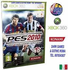 PES 10 PRO EVOLUTION SOCCER 2010 GIOCO XBOX 360 NUOVO