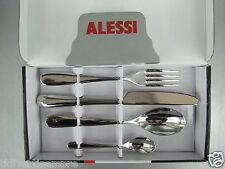 ALESSI - POSATE NUOVO MILANO-24 pezzi monoblocco da 230,00 a 139,00 euro