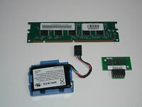 Dell Poweredge 2650 Server Raid Key Kit with Battery and 128MB Memory Dimm Cache