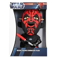 Star Wars Deluxe Talking 15 Inch Darth Maul Plush Toy Underground Toys