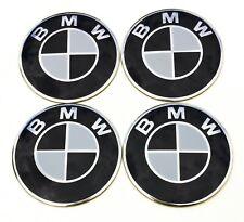 4x 65mm Rad aufkleber embleme passend für BMW radkappen nabenkappen nabendeckel