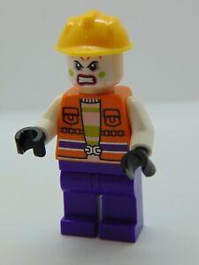 Genuine Lego Jokers Goon Construction Outfit Mini Figure sh093 76013