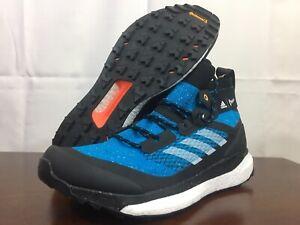Adidas Men's Sample Terrex Parley Free Hiker Boost Size 9 Black Blue EF0346