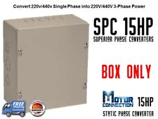 Static Phase Converter - 15 HP - Create 3 Phase Power from Single Phase Supply!