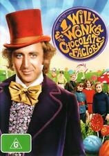 Willy Wonka and The Chocolate Factory DVD Top 500 Movies R4