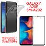 Protection au choix pour Samsung Galaxy A20E A202 COQUE / VERRE TREMPE