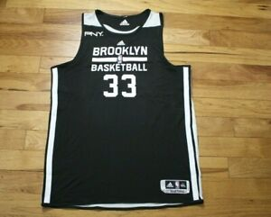 Mirza Teletovic 2013-14 Brooklyn Nets player used practice jersey 3XL+2