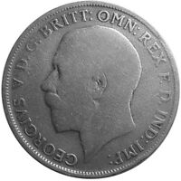 1922 ONE FLORIN/TWO SHILLING - Silver Coin - King George V - Great Britain  #P59