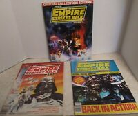 3 STAR WARS 1980/The Empire Strikes Back/Official Collectors  Editions/Mint Cond