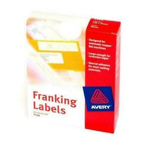 Avery Franking Labels FL04 Bx1000  140x38mm Price includes Vat