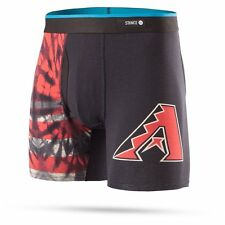 STANCE ARIZONA DIAMONDBACKS Basilone Boxer Brief TIE DYE BLACK SMALL M302B16TDI