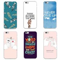 Printed Silicone TPU Hard Gel Back Case Cover Skin for Various Mobile Phones