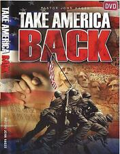 Take America Back - 2 Dvds - John Hagee - Sale Rare ! Lowest Price Ever !