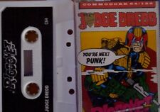 Judge Dredd  C64 Kassette (Box, Manual, Tape) funktioniert 100 %