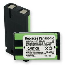 850mA, 3.6V Replacement NiMH Battery for Panasonic KX-TG2480S Cordless Phones...
