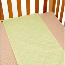Babies' crib sheet saver pad, Babies R Us, waterproof, quilted terry, sage, New
