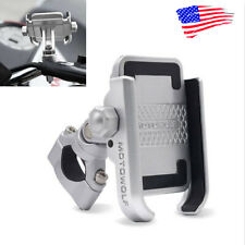 Aluminum Cell Phone Holder Mount For Harley Davidson Street Glide Touring FLHX