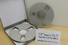 "1/2"" tape Reel 10,5"" for Studio-Records otari, Telefunken-nuevo-nº lx1/2-266-1"
