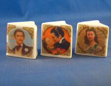 Birchcroft Thimbles -- Miniature Book Style  - Gone with the Wind ( Make Offer )