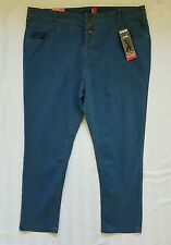 Ladies plus size 24 High Waisted Skinny leg denim jeans BNWT