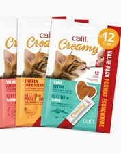 CATIT CREAMY (TUNA, CHICKEN AND SALMON) PACK OF EACH FLAVOR