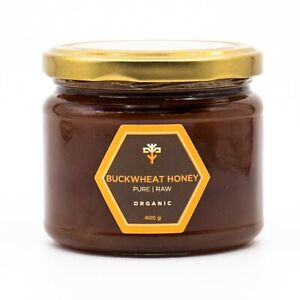400g Raw HONEY Natural ACACIA FOREST BUCKWHEAT WILDFLOWER HEATHER unpasteurized