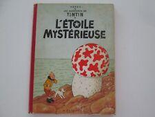TINTIN L'ETOILE MYSTERIEUSE B26 1958 ETAT BE